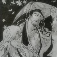 Bleach Ukitake & Kyoraku