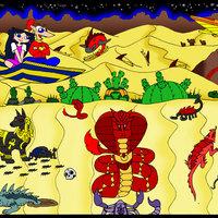 Phineas e isabella en el desierto magico