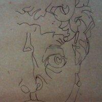 David (ejercicio blind contour)