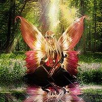 Fotomanipulación hada del bosque en photoshop cs6