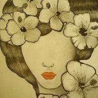 diosa de las flores
