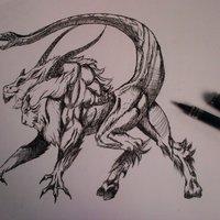 Rapidógrafo/ bestias mitológicas.