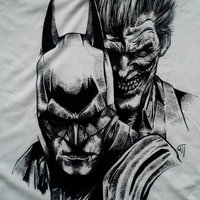 Camiseta Batman y el Joker