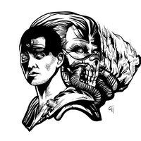 Furiosa and Immortan Joe (Mad Max)