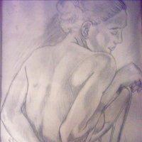 espalda femenina.