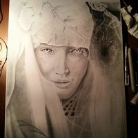 nimfa retrato