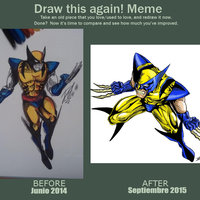 Wolverine! Before & After