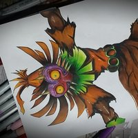 Skull Kid from Legend of Zelda: Majora 's mask