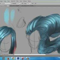 Tutorial:  Cómo dibujar pelo