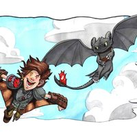 commission how to train your dragon 2