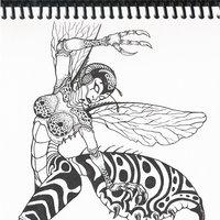 Inktober Lady Avispa