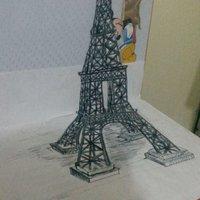 Torre Eiffel  3D (trick art)