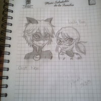 ChatNori y LadyBug :3