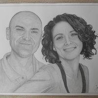 Retrato Yoli y Jara