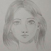 bosquejo rostro de mujer