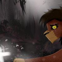 Kovu - El rey León (Fan art)