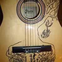 Guitarra sin terminar