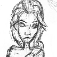 Forzen inspiration sketch