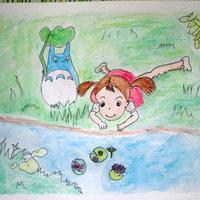 Chibi-Totoro y Mei ^.^