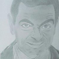 Mister Bean a lapiz