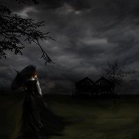 la dama sola