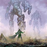 Mago VS Colosos de piedra