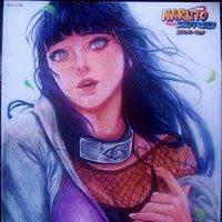 Hinata Hyuga (Naruto Shippuden) Fanart Sakimichan