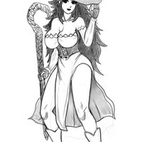 Dragons crown hechicera