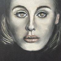 Retrato se supone Adele