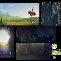 Backgrounds para Comic