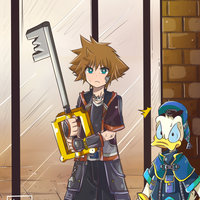 Kingdom Hearts (Sora y Donald)