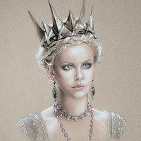 La reina Ravenna