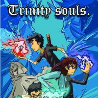 trinity soul-portada de manga efimero.