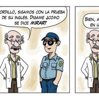 Clases de Ingles con el Oficial Gordillo