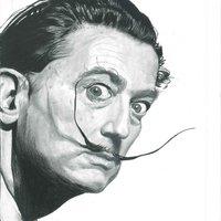 Salvador Dalí, retrato clásico