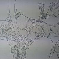 El guerrero carmesí