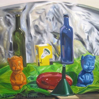 Alcancías y botellas