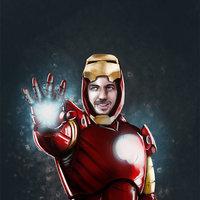 Álvaro como Ironman