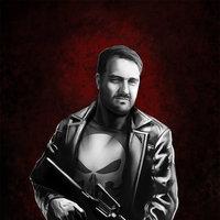 Roberto as Punisher