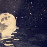 el reflejo de la luna