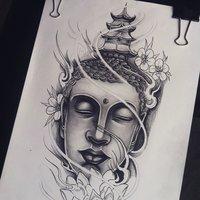 oriental tattoo design