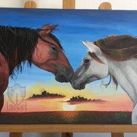 Los caballos de Yinet [comisión]