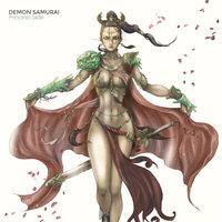 Princess Jade - DEMON SAMURAI