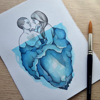 Iceberg couple