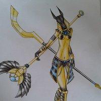 Guerrera Anubis
