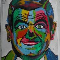 Rowan Atkinson  Pop Art