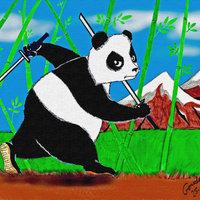 Oso panda ninja