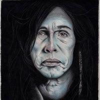 Steven Tyler (Dibujo con lapices de color)