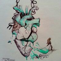 Corazón roto [Inktober 2016 día 9: Broken]
