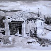 paisajes en tinta